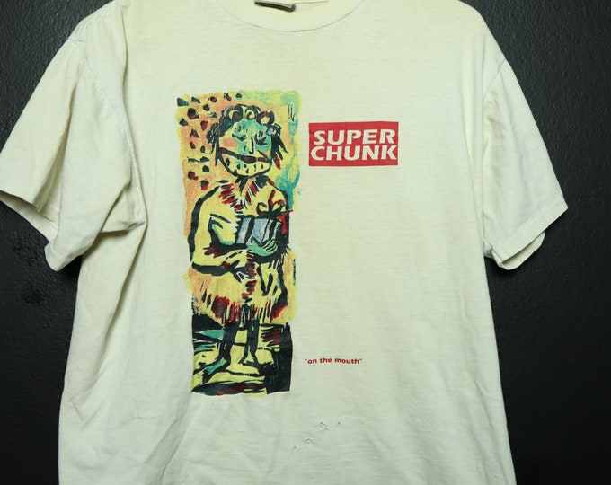 Superchunk On The Mouth 1992 Vintage Tshirt