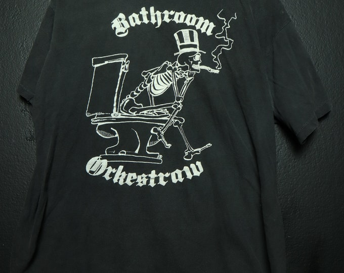 Bathroom Orkestraw 1989 vintage T-Shirt