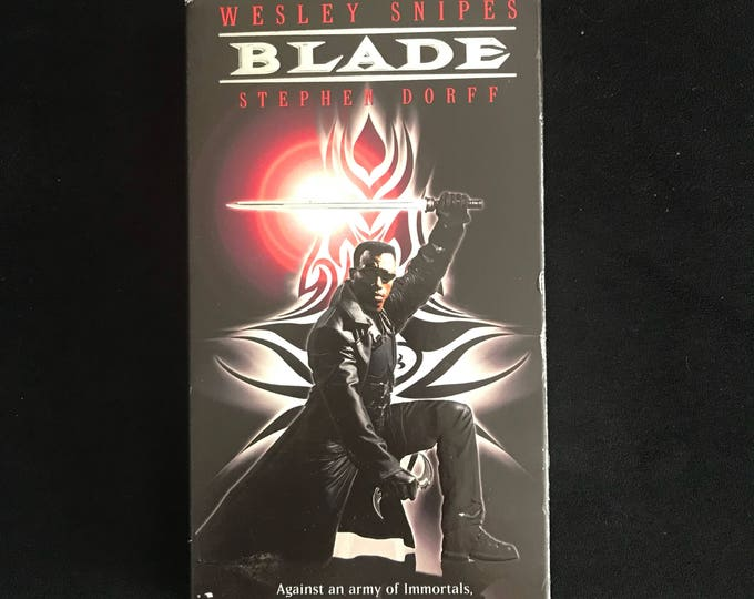 BLADE 1990's Vintage Movie VHS
