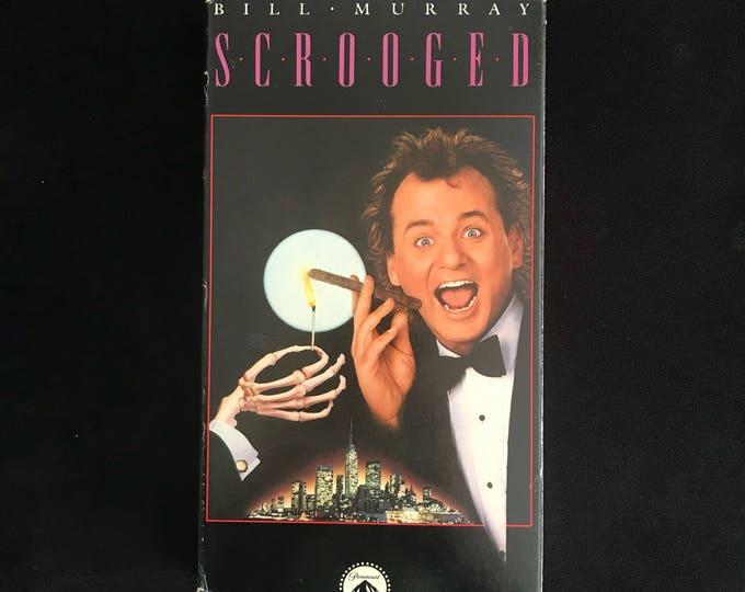 SCROOGED 1990's Vintage Movie VHS