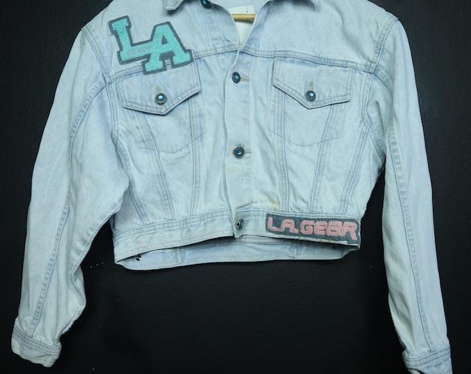 LA Gear 1990's Vintage Denim Jacket