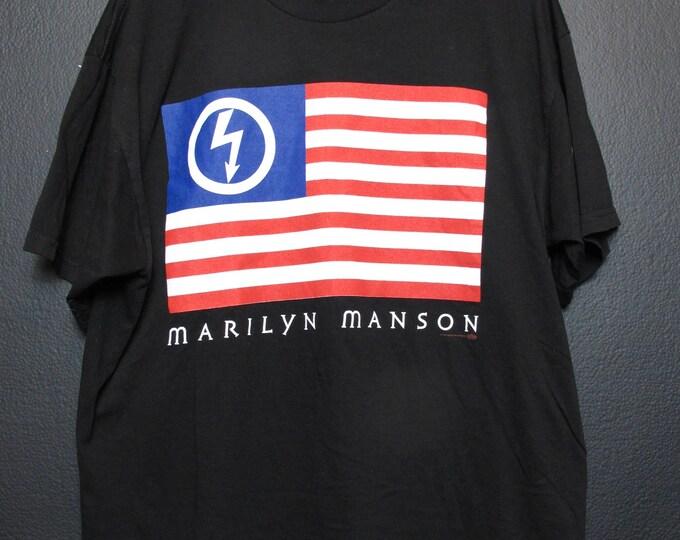 Marilyn Manson American by Birth, Antichrist by Choice 1997 Tshirt