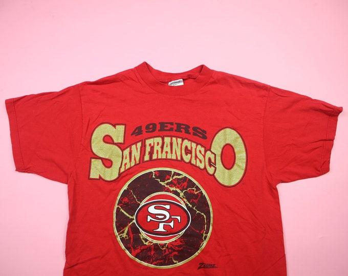 San Francisco 49ers NFL Zubaz vintage Tshirt