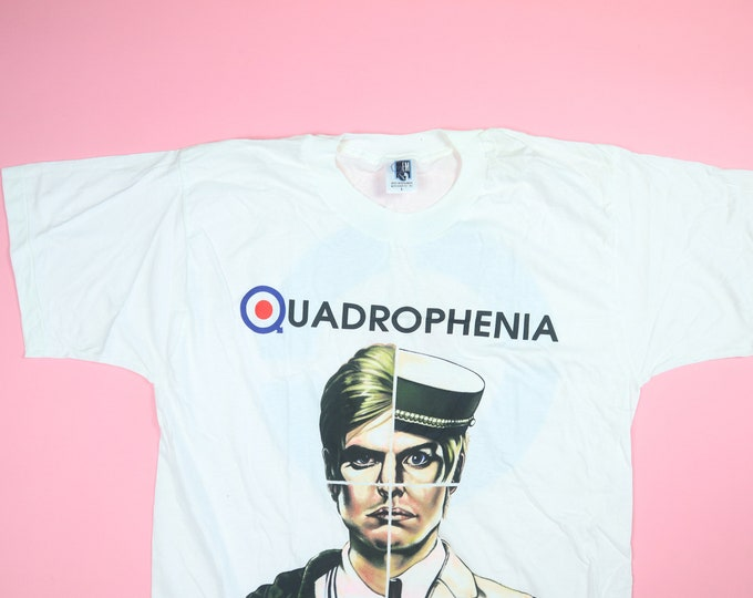 The Who Quadrophenia Tour 1996 vintage Tshirt