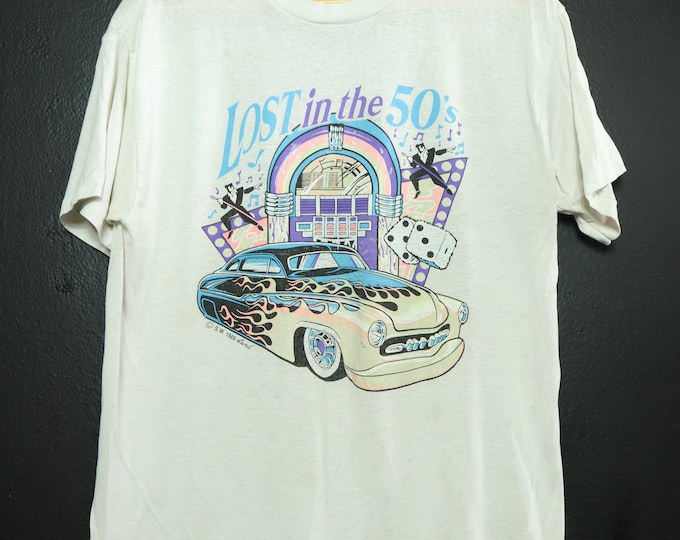 Lost In The 50s 1990's vintage Tshirt