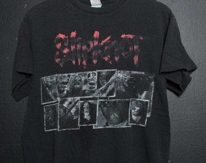 Slipknot Faded vintage Tshirt