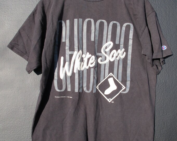Chicago White Sox MLB 1991 vintage Tshirt Champion brand Made in USA