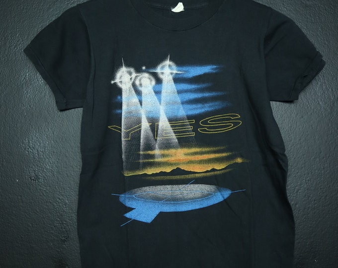 Yes World Tour 1984 Vintage Shirt