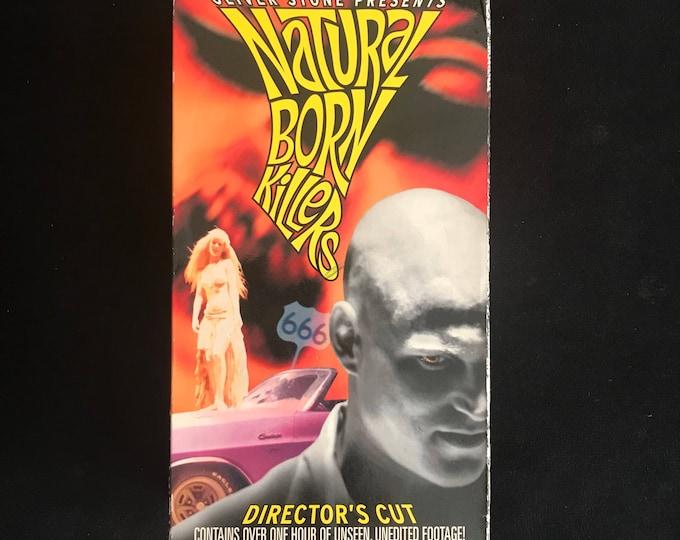 NATURAL BORN KILLERS 1990's Vintage Movie Vhs