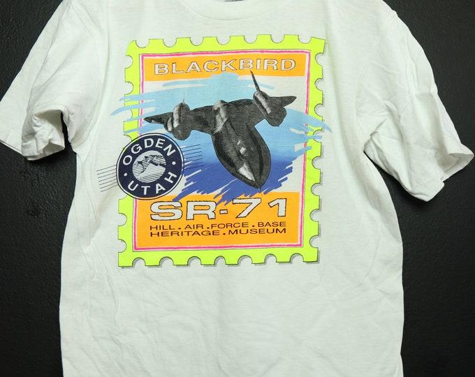 Blackbird SR-71 1990's vintage Tshirt