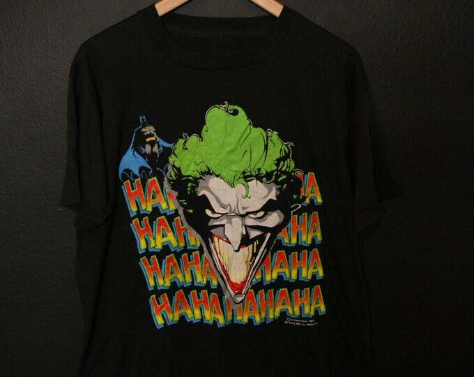 Joker DC Comics 1989 vintage Tshirt deadstock