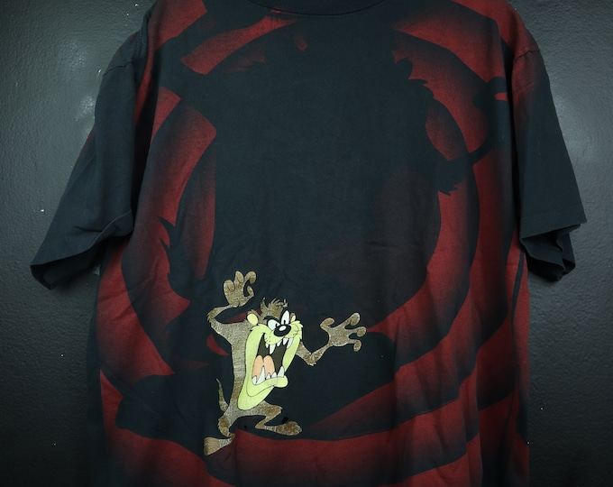 Looney Tunes Tazmanian Devil 1990s vintage Tshirt