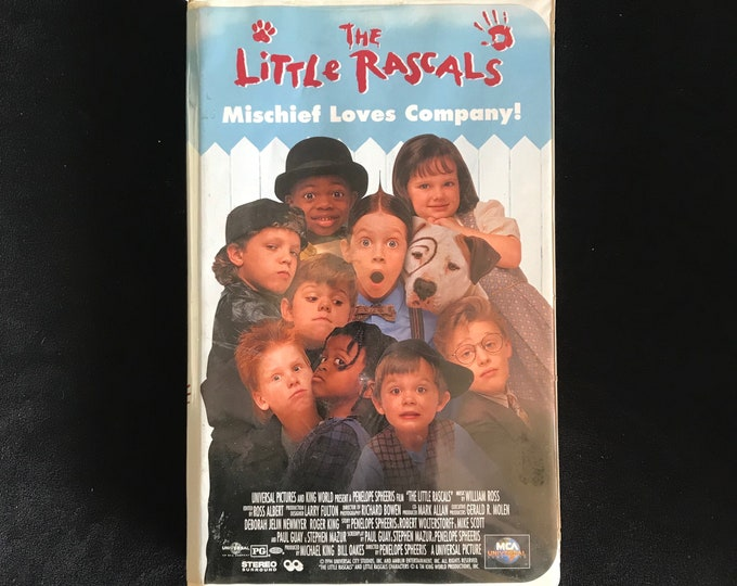 The Little Rascals 1990's Vintage Movie VHS