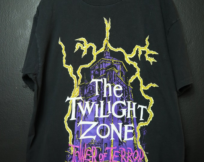 Tower of terror Disney vintage 1990s Tshirt
