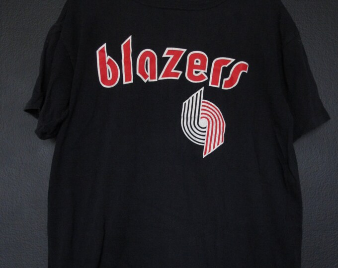 Portland Trailblazers NBA 1990s vintage Tshirt Starter Blazers