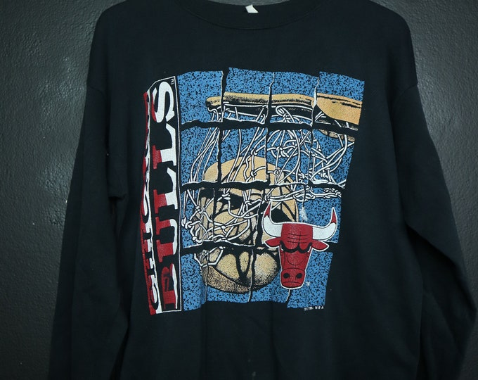 Chicago Bulls NBA 1990s vintage sweatshirt