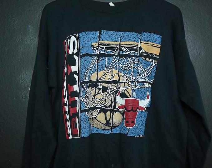 Chicago Bulls NBA 1990s vintage sweatshirt