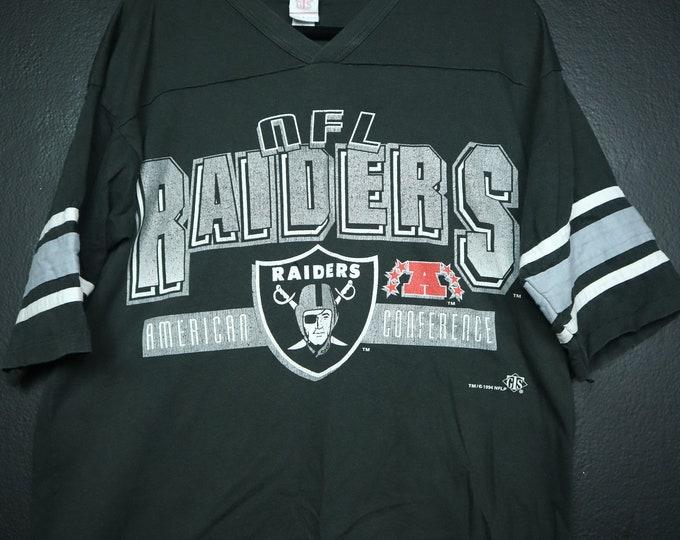 NFL Raiders 1990s Vintage Jersey Tshirt Oakland Los Angeles
