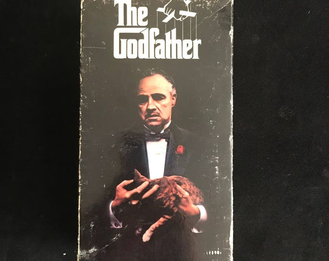 THE GODFATHER 1990's Vintage Movie VHS