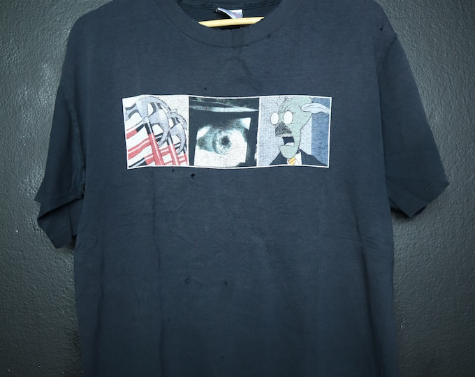 Roger Waters Pink Floyd In The Flesh Vintage Tshirt