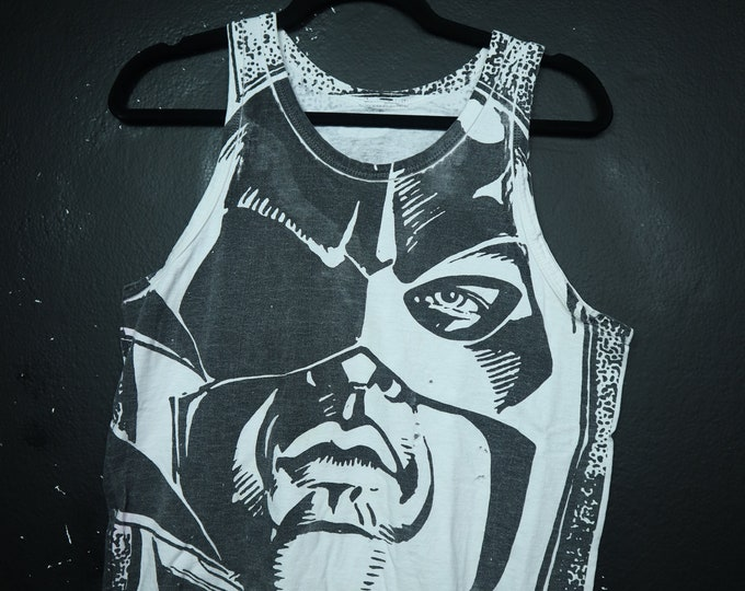 Batman Returns all over print 1990s vintage Tanktop