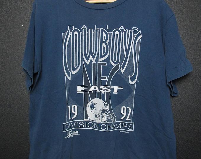 Cowboys Dallas NFL 1992 Vintage Tshirt