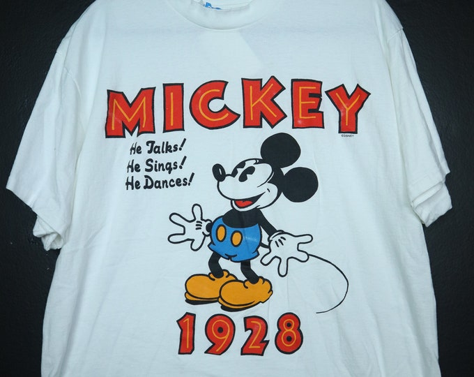 Mickey Mouse Disney 1990's Vintage Tshirt
