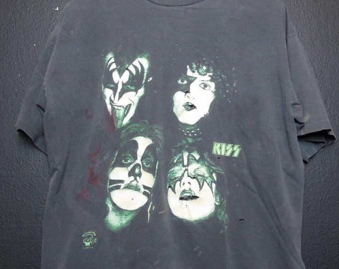 Kiss 1990's vintage Tshirt