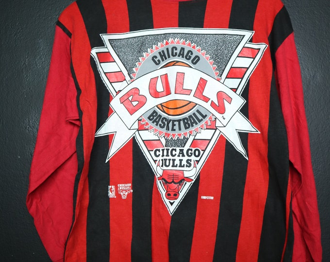Chicago Bulls NBA 1990s vintage Long Sleeve Tshirt