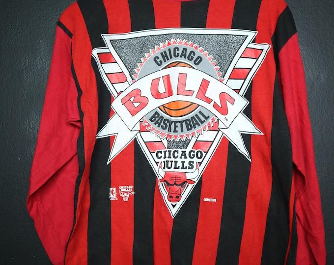 Chicago Bulls NBA 1990s vintage Long Sleeve Tshirt