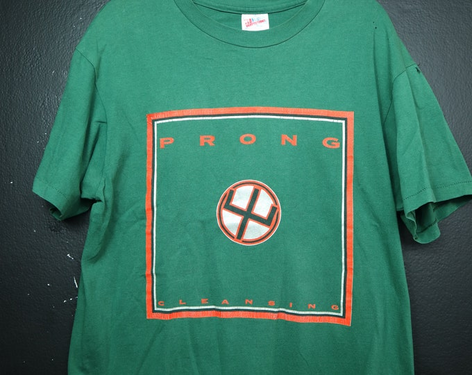 PRONG Cleansing 1993 Vintage Tshirt