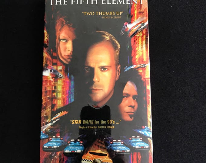 FIFTH ELEMENT 1997 Vintage Movie VHS