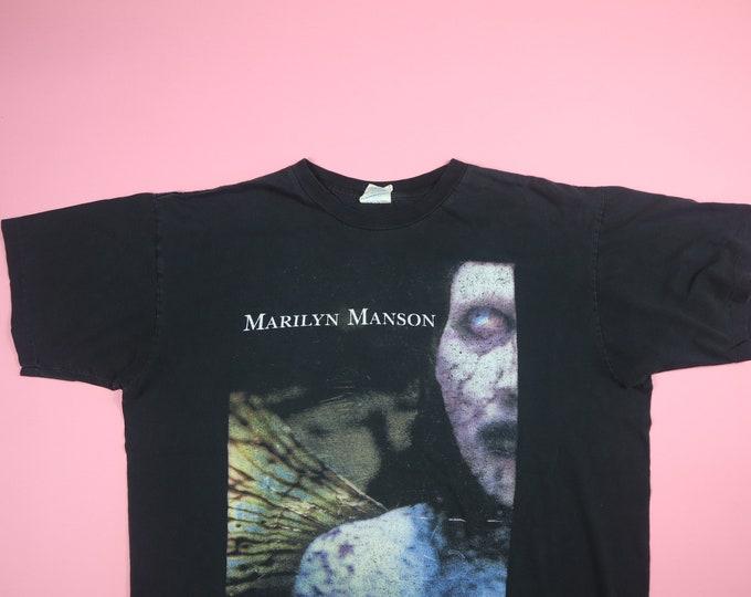 Marilyn Manson Antichrist Superstar 1996 vintage Tshirt