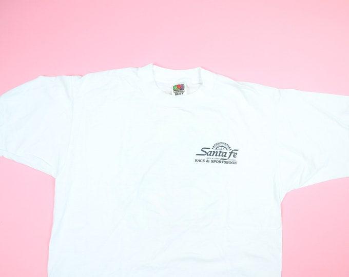 Santa Fe All The Way Sports Casino Las Vegas 1990s Vintage Tshirt