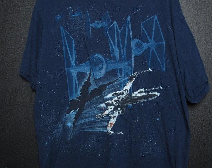 Star Wars Xwing 1995 Vintage Tshirt