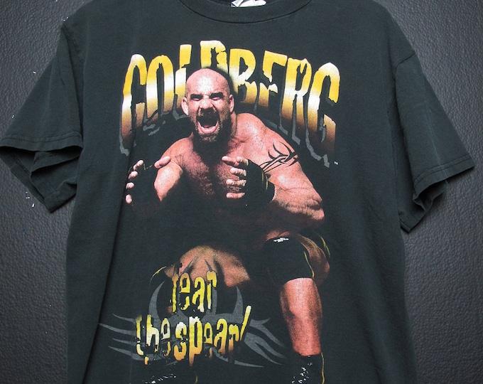 Goldberg Fear The Spear WCW WWE WWF Wrestling 1999 vintage Tshirt