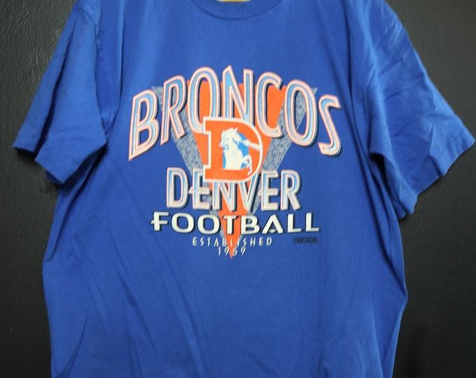 NFL Denver Broncos 1990's vintage Tshirt
