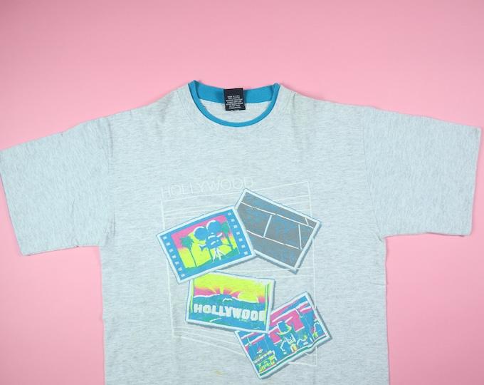 Hollywood California 1990's Vintage TShirt