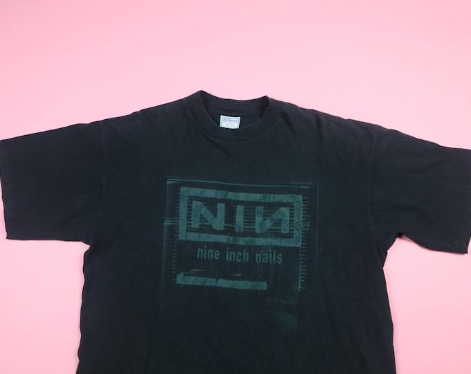 Nine Inch Nails 1990's Vintage Tshirt