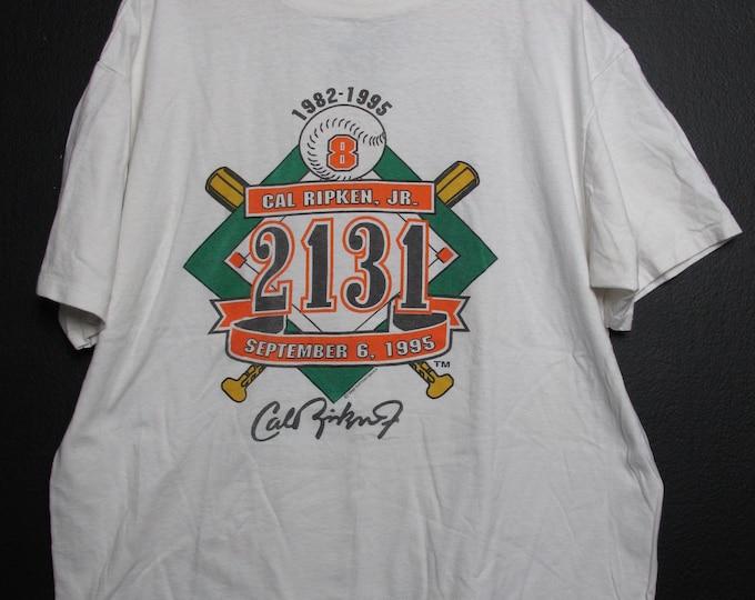 MLB Baltimore Orioles Cal Ripken 1995 vintage Tshirt