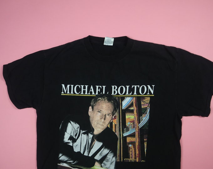 Michael Bolton Symphony Tour 2001 Vintage Shirt