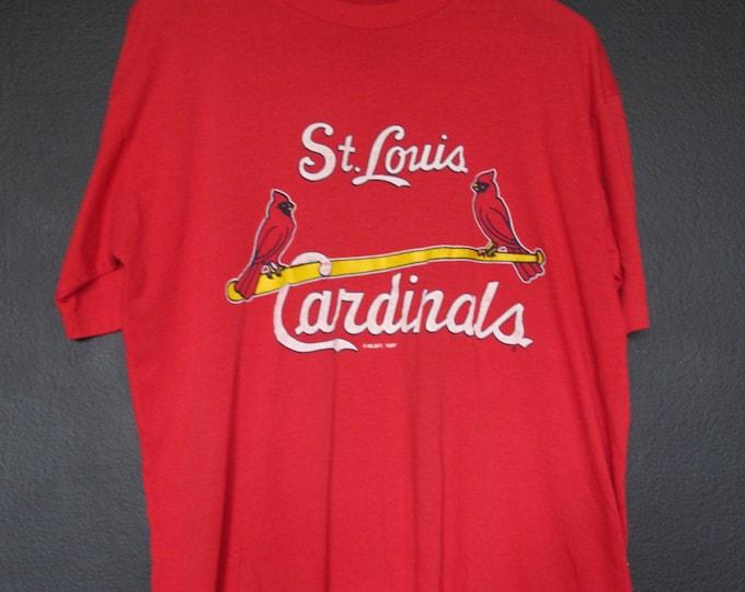 St-Louis Cardinals MLB 1987 vintage Tshirt