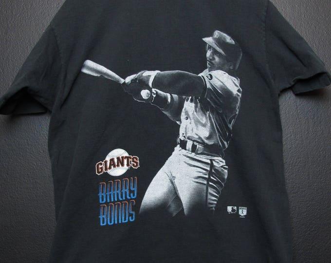San Francisco Giants Barry Bonds MLB 1995 vintage Tshirt