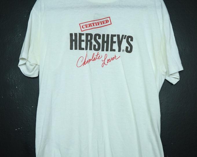 Certified HERSHEY'S Chocolate Lover novelty vintage tshirt