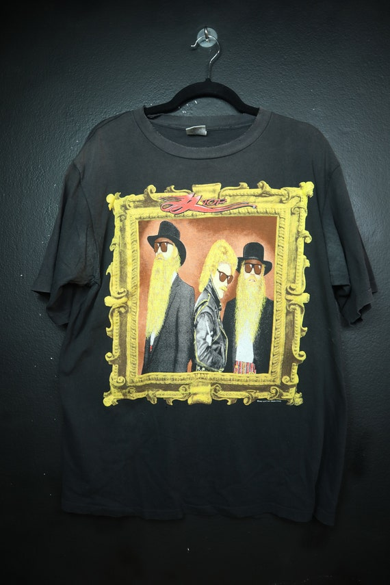 ZZ Top 1990's vintage Tshirt