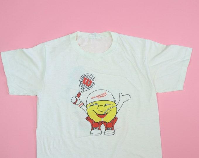 Wilson Tennis Mr.PeeWee 1980's vintage Tshirt