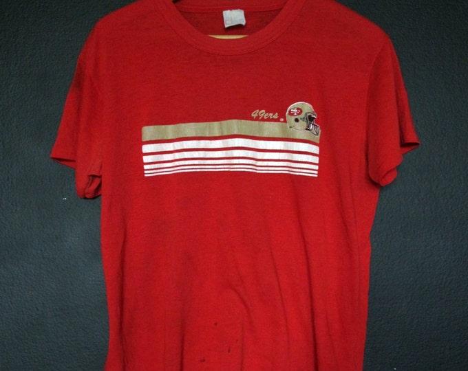 San Francisco 49ers NFL 1980's vintage Tshirt