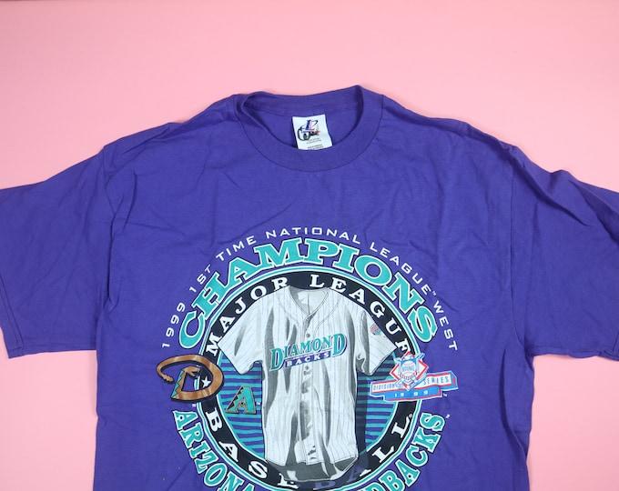 Arizona Diamondbacks NL West 1999 Vintage Tshirt