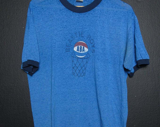 Beastie Boys Atwater Basketball Association 1990's vintage Tshirt