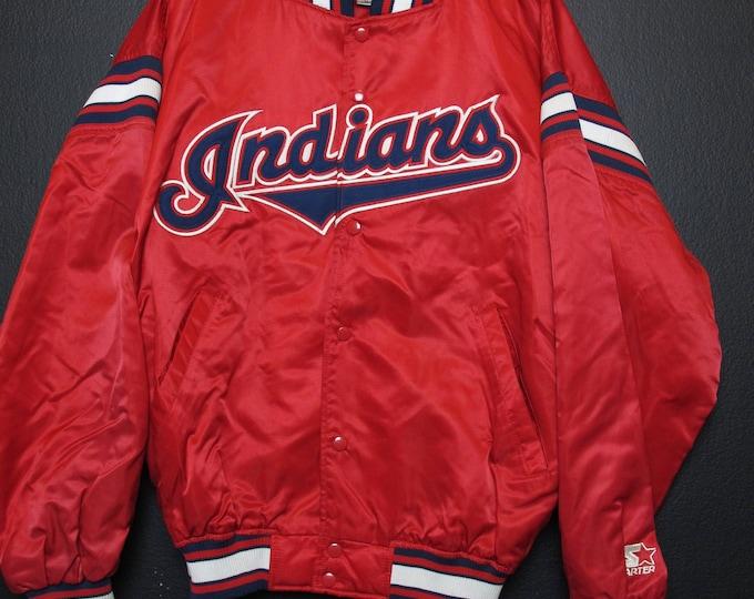 Cleveland Indians MLB 1990s vintage Starter Jacket